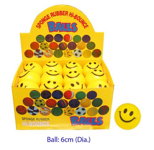 Ball - Smiley PVC (each) - Ball - Smiley (each)