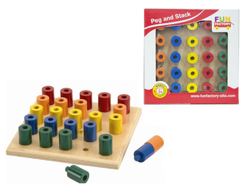 Peg and Stack Board - Peg and Stack Board