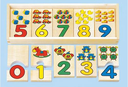 Number Puzzles 20pcs - Number Puzzles