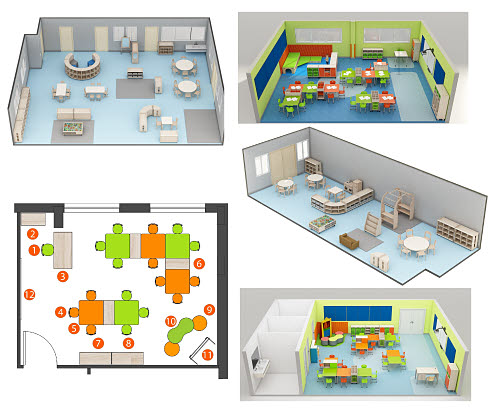 Classroom Furniture Packages - Tailored to your floor plans & Environment - Classroom Furniture Packages - Tailored to your floor plans & Environment