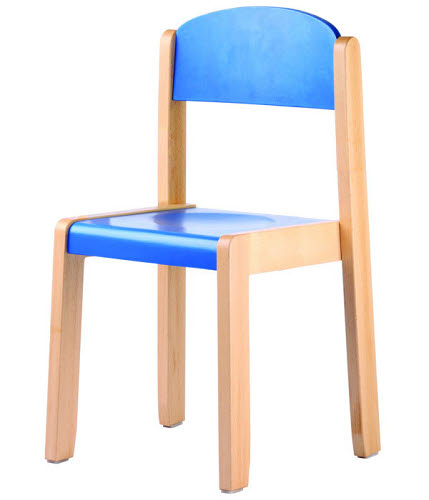 Elegance Chair in Natural or in Colour Beech Wood - Elegance Chair in Natural or in Colour Beech Wood