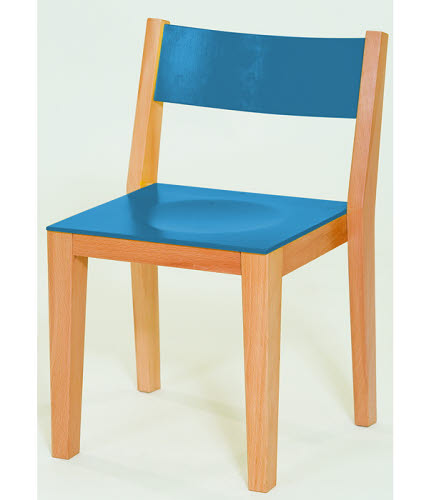 Smart Chair in Natural or Colour Beech Wood - Smart Chair in Natural or  Colour Beech Wood
