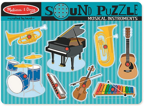 M&D - Musical Instruments Sound Puzzle - Musical Instruments Sound Puzzle