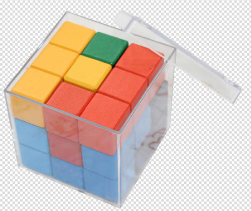 Coloured Soma Cube - Soma Cube Colour