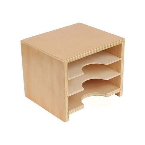 Geometric Form Card Cabinet - sml - Geometric Form Card Cabinet