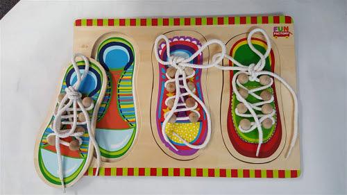 Puzzle - Shoe Lacing 2 - Puzzle - Shoe Lacing 2