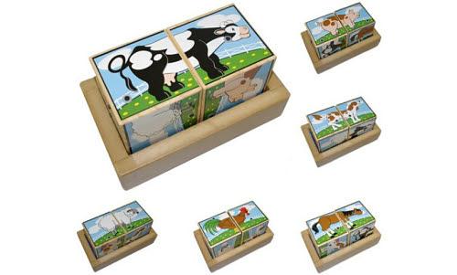 M&D - Farm Sound Block Puzzle - Farm Sound Block Puzzle