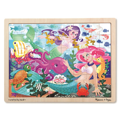 M&D - Mermaid Fantasea Jigsaw - 48pcs - M&D - Mermaid Fantasea Jigsaw - 48pcs
