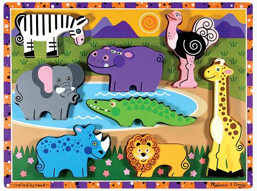 M&D - Safari Chunky Puzzle - Safari Chunky Puzzle