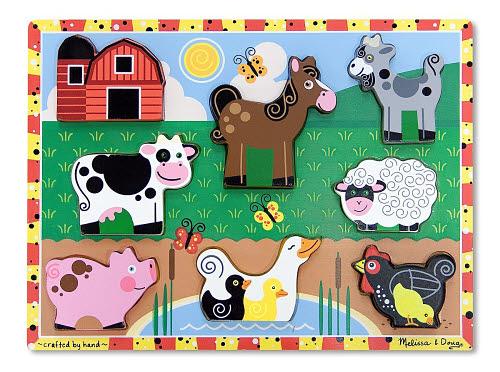 M&D - Farm Chunky Puzzle - Farm Chunky Puzzle