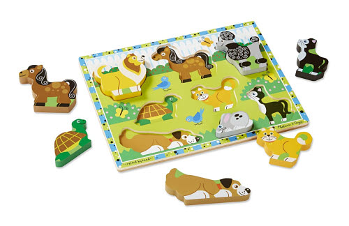 M&D - Pets Chunky Puzzle - Pets Chunky Puzzle