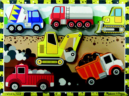 M&D - Construction Chunky Puzzle - Construction Chunky Puzzle
