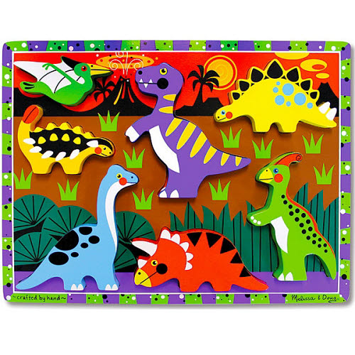 M&D - Dinosaurs Chunky Puzzle - Dinosaurs Chunky Puzzle
