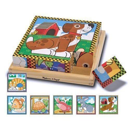 M&D - Pets Cube Puzzle 16pc - Pets Cube Puzzle 16pc