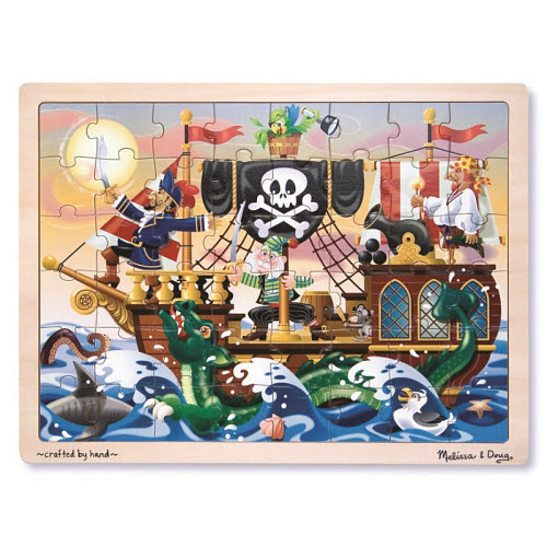 M&D - Pirate Adventure Jigsaw - 48pc - M&D - Pirate Adventure Jigsaw - 48pc