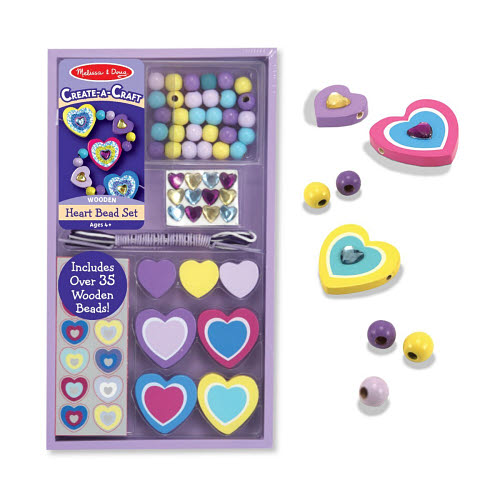 M& D - Heart Bead Set - DYO - Heart Bead Set - DYO