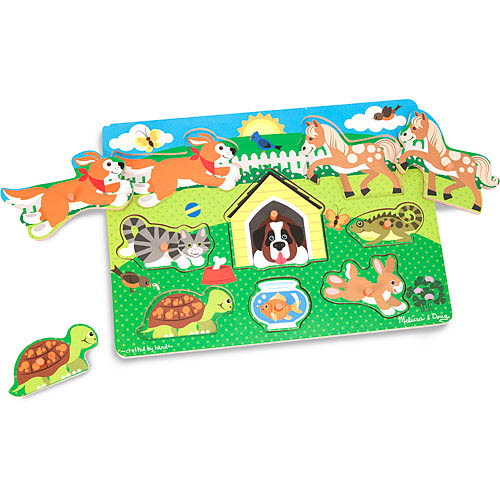 M&D - Pet Peg Puzzle - Pet Peg Puzzle