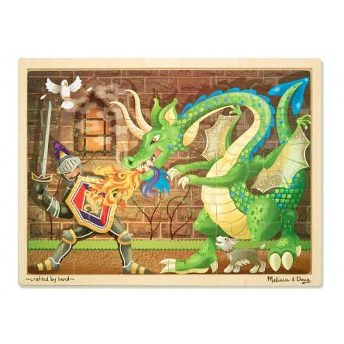 M&D - Knights & Dragons Jigsaw - 48pc - Knights & Dragons Jigsaw - 48pc