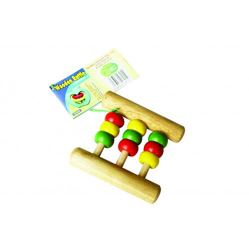 Rattle Natural Wood Abacus (large) - Rattle Natural Wood Abacus (large)