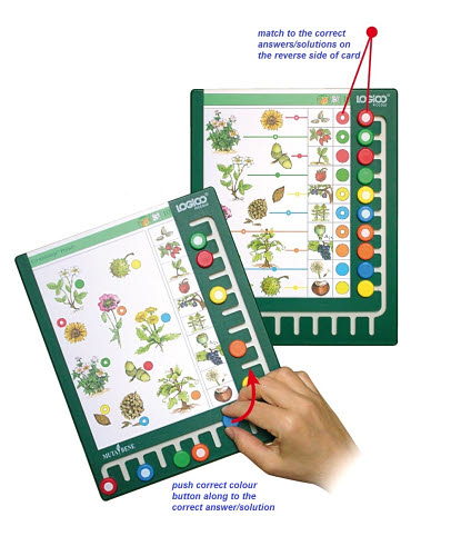 LOGICO Piccolo Board - LOGICO Piccolo Board - Activity Cards Sold separately