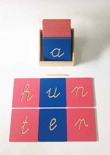 Grooved Letter Lowercase Cursive Tiles - Grooved Letter Lowercase Cursive Tiles
