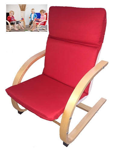 Bentwood Child Rocking Recliner Chair - Bentwood Child Rocking Recliner Chair