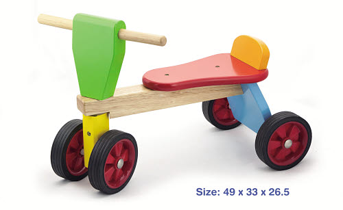 Wooden Trike Ride-On - Wooden Trike Ride On