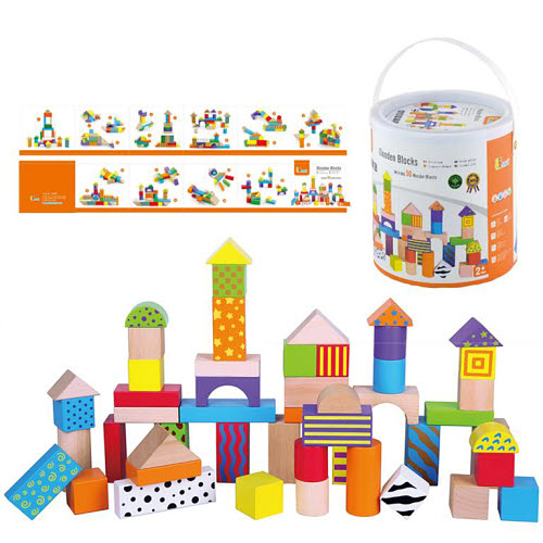 Blocks with Patterns in Tub - Blocks with Patterns in Tub