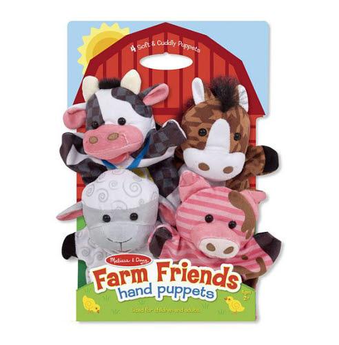 M&D - Hand Animal Puppets - Farm Friends - M&D - Hand Animal Puppets - Farm Friends