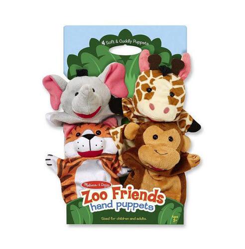M&D Hand puppets -  Zoo Friends - M&D Hand puppets -  Zoo Friends