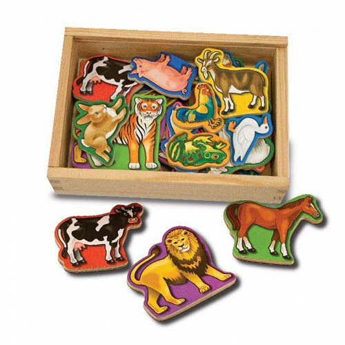 M&D - Magnetic Animals In A Box - Wooden - Magnetic Animals In A Box - Wooden