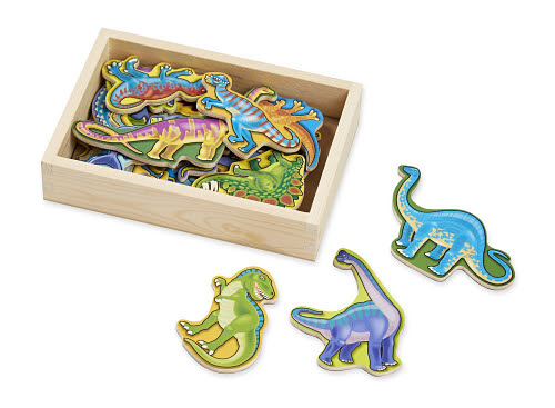 M&D - Magnetic Dinosaurs In A Box - Wooden - Magnetic Dinosaurs In A Box - Wooden