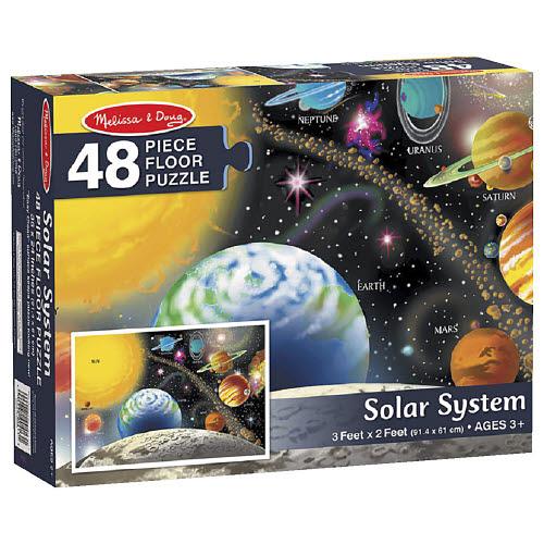M&D - Solar System Puzzle 48pcs - M&D - Solar System Puzzle 48pcs