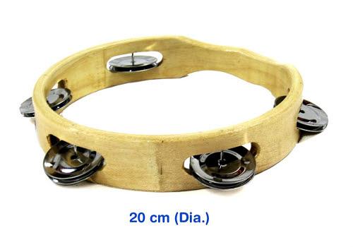 Tambourine w/o Skin 20cm - Tambourine w/o Skin 20cm