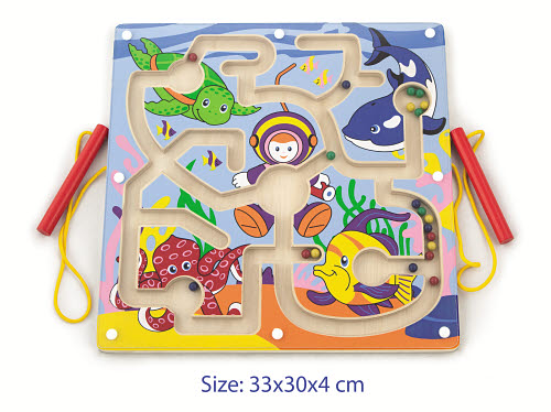 Magnetic Bead Trace Frame Sealife - Magnetic Bead Trace Frame Sealife