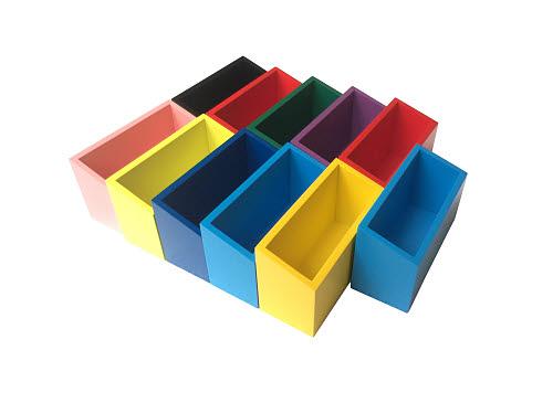 Grammar Command Boxes (11 Modern Coloured Boxes) - Grammar Command Boxes