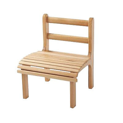 Chair Slatted Beech Wood, Infant Size - Chair Slatted Beech Wood, Infant Size