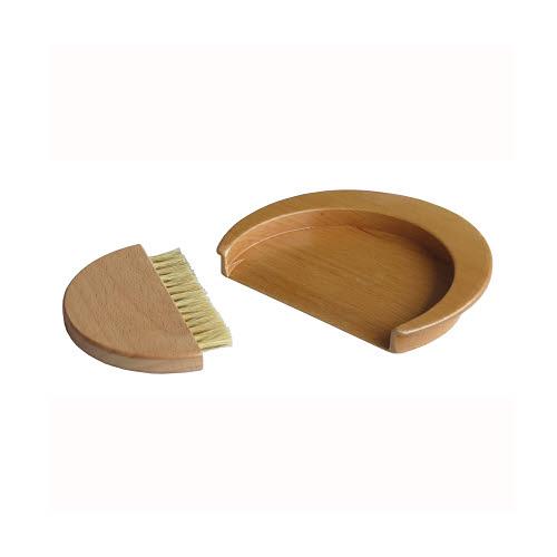 Bread Crumbs Wooden Brush & Dustpan Set - Bread Crumbs Wooden Brush & Dustpan Set