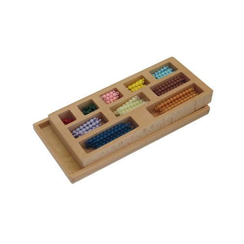 Colour Bead Bars Con. 1-10 X10 with Box - Colour Bead Bars Con. 1-10 X10 with Box