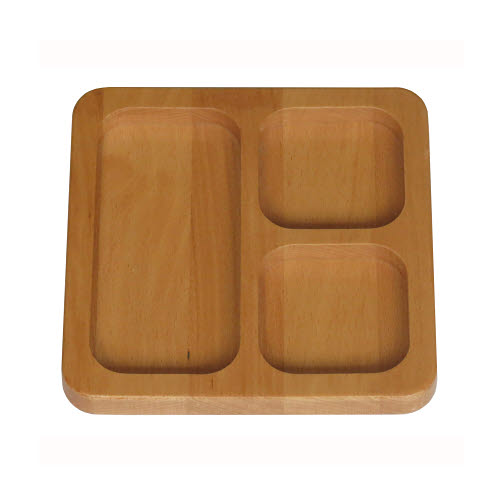 Sorting Tray with 3 compartments - Sorting Tray with 3 compartments