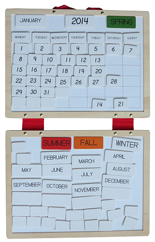 Magnetic Calendar Activity Board - Magnetic Calendar Activity Board