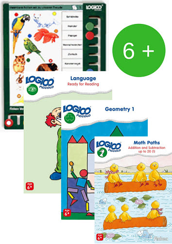 LOGICO Primo Board & Cards Starter Set for 6+yo - LOGICO Primo Board & Cards Starter Set for 6+yoSold separately
