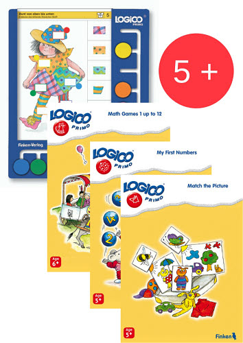 LOGICO Primo Board & Cards Starter Set for 5+yo - LOGICO Primo Board & Cards Starter Set for 5+yoSold separately