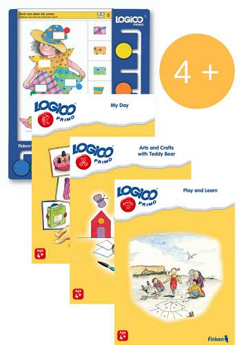 LOGICO Primo Board & Cards Starter Set for 4+yo - LOGICO Primo Board & Cards Starter Set for 4+ year olds