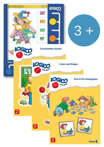 LOGICO Primo Board & Cards Starter Set for 3+yo - LOGICO Primo Board & Cards Starter Set for 3+ year olds