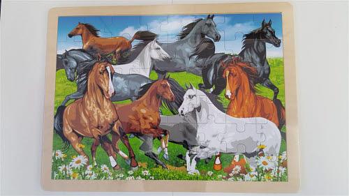 Horses - Jigsaw Puzzle 48 pcs - Horses - Jigsaw Puzzle