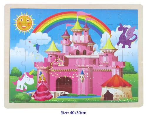 Castle - Jigsaw Puzzle 48 pcs - Castle - Jigsaw Puzzle 48 pcs