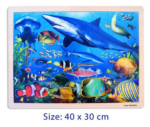 Sealife - Jigsaw Puzzle 48 pcs - Sealife - Jigsaw Puzzle 48 pcs