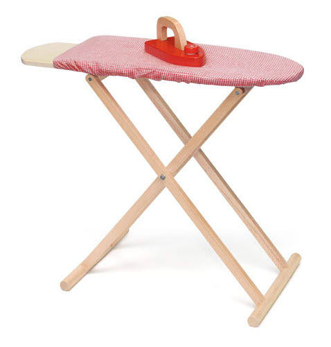 VG - Ironing Board & Iron - VG - Ironing Board & Iron