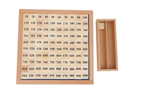 Thousand Board - Montessori Thousand Board